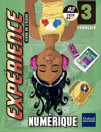 Expérience 3. Livre de l'élève numérique
