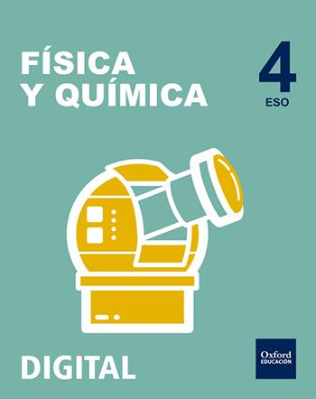Inicia Digital - Física y Química 4.º ESO. Licencia alumno