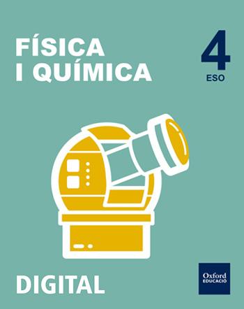 Inicia Digital - Física i Química 4t ESO. Llicència Alumne (Valencià)