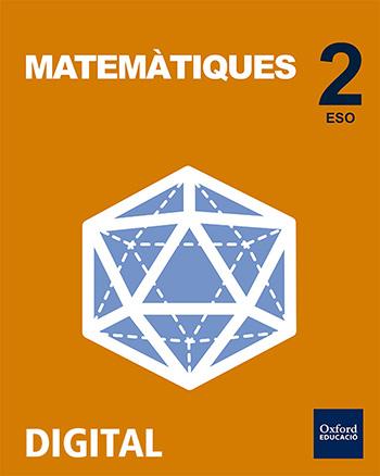 Inicia Digital - Matemàtiques 2n ESO. Llicència Alumne (Valencià)