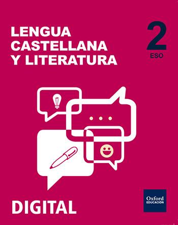 Inicia Digital - Lengua Castellana y Literatura 2.º ESO. Licencia alumno