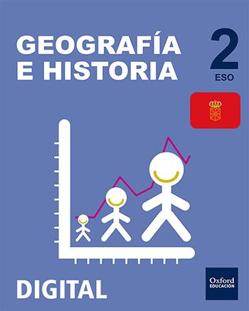 Inicia Digital - Geografía e Historia 2.º ESO. Licencia alumno (Navarra)