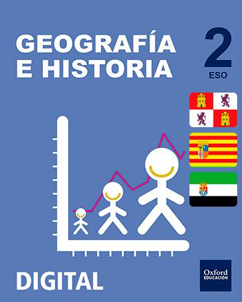 Inicia Digital - Geografía e Historia 2.º ESO. Licencia alumno (Castilla y León, Aragón y Extremadura)