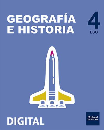Inicia Digital - Geografía e Historia 4.º ESO. Licencia alumno
