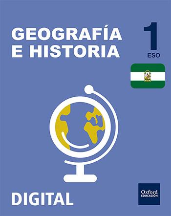 Inicia Digital Flipbook - Geografía e Historia 1.º ESO. Licencia alumno (Andalucía)