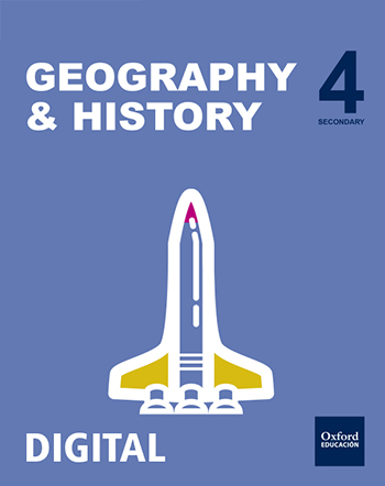 Inicia Digital - Geography & History 4.º ESO. Student's License
