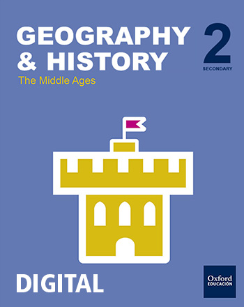 Inicia Digital - Geography & History 2.º ESO. Volume 2 Middle Ages. Student's License