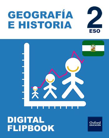 Inicia Digital Flipbook - Geografía e Historia 2.º ESO. Licencia alumno (Andalucía)