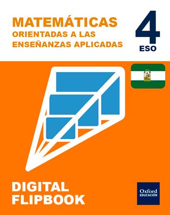 Inicia Digital Flipbook - Matemáticas (Orientadas a las Enseñanzas Aplicadas) 4.º ESO. Licencia alumno (Andalucía)