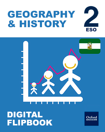Inicia Digital Flipbook - Geography & History 2.º ESO. Student's License (Andalucía)