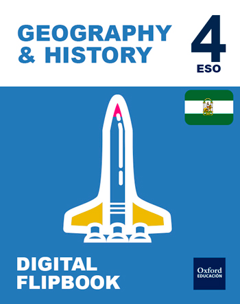 Inicia Digital Flipbook - Geography & History 4.º ESO. Student's License (Andalucía)