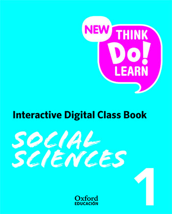 New Think Do Learn Social Sciences 1. Interactive Class Book (Madrid)