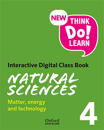 New Think Do Learn Natural Sciences 4. Interactive Digital Class Book Module 3.