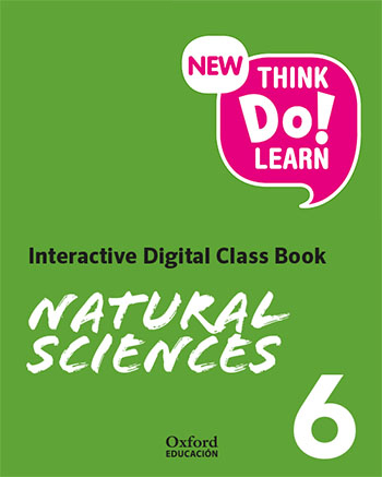 New Think Do Learn Natural Sciences 6. Interactive Digital Class Book (Madrid Edition)
