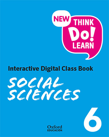 New Think Do Learn Social Sciences 6. Interactive Digital Class Book (Madrid Edition)
