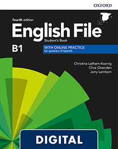 English File 4th Edition Intermediate (B1). Digital Student's Book + Online Practice