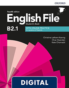 English File 4th Edition Intermediate Plus (B2.1). Digital Student's Book + Online Practice
