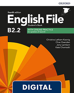 English File 4th Edition Upper-Intermediate (B2.2). Digital Student's Book + Online Practice