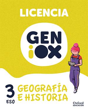 GENiOX Geografía e Historia 3º ESO.Licencia estudiante (Andalucía)