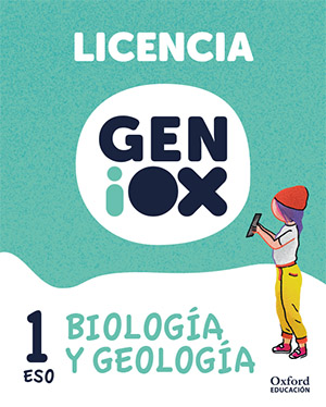 GENiOX Biología y Geología 1º ESO.Licencia estudiante (Andalucía)