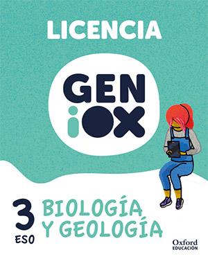 GENiOX Biología y Geología 3º ESO.Licencia estudiante (Andalucía)