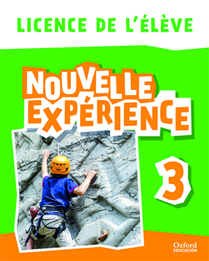 Nouvelle Experience 3. Licence de l'élève