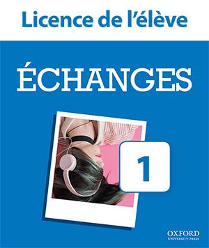 Échanges 1. Licence de l'élève
