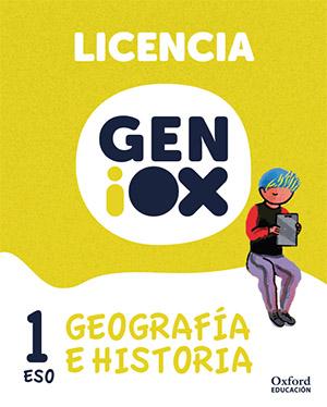 GENiOX Geografía e Historia 1º ESO. Licencia estudiante (Murcia)