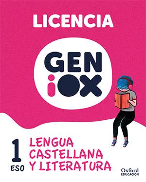 GENiOX Lengua Castellana y Literatura 1º ESO.Licencia estudiante (Murcia)