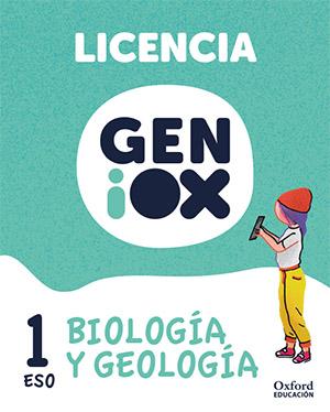 GENiOX Biología y Geología 1º ESO.Licencia estudiante (Murcia)