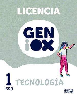 GENiOX Tecnología 1º ESO.Licencia estudiante (Murcia)