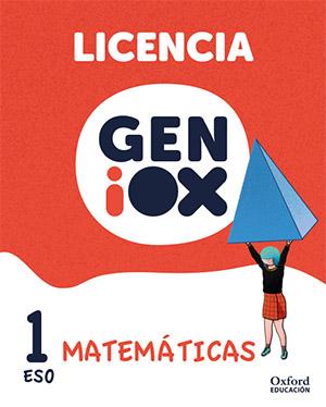 GENiOX Matemáticas 1º ESO.Licencia estudiante (Murcia)