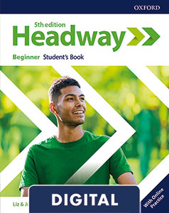 Headway 5th Edition Beginner. Digital Student's Book+ Online Practice