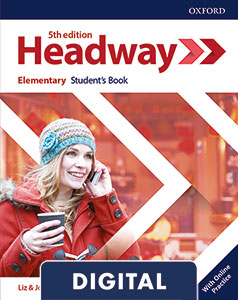 Headway 5th Edition Elementary. Digital Student's Book+ Online Practice