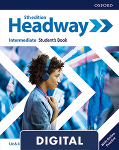 Headway 5th Edition Intermediate. Digital Student's Book+ Online Practice