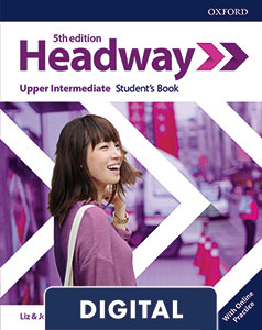 Headway 5th Edition Upper-Intermediate. Digital Student's Book+ Online Practice