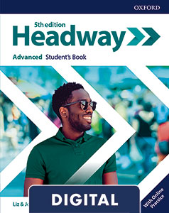 Headway 5th Edition Advanced. Digital Student's Book+ Online Practice