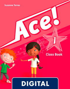 Ace! 1. Class Book Blink e-Book