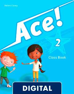 Ace! 2. Class Book Blink e-Book