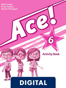 Ace! 6. Activity Book (OLB eBook)