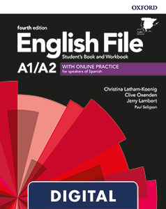 English File 4th Edition A1/A2. Online Practice
