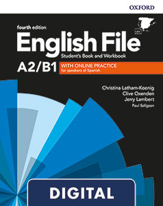 English File 4th Edition A2/B1. Online Practice