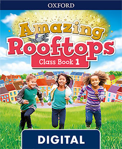 Amazing Rooftops 1. Digital Class Book