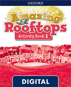 Amazing Rooftops 1. Digital Activity Book