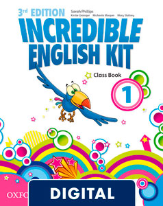Incredible English Kit 3rd edition 1. Class Book Blink e-Book
