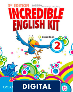 Incredible English Kit 3rd edition 2. Class Book Blink e-Book