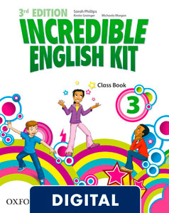 Incredible English Kit 3rd edition 3. Class Book (OLB eBook)