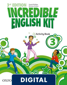 Incredible English Kit 3rd edition 3. Activity Book (OLB eBook)