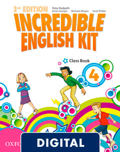 Incredible English Kit 3rd edition 4. Class Book (OLB eBook)