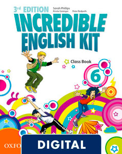 Incredible English Kit 3rd edition 6. Class Book (OLB eBook)